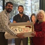 The best – and tastiest - way Sonya Kanady knew how to thank Dr. Abbott for saving her life was to deliver a custom-made cake for Dr. Abbott to share with North Country employees.