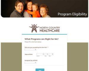 Program Eligibility Tool at northcountryhealthcare.org